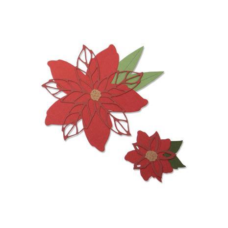 Sizzix Thinlits Dies - Poinsettia  19-07