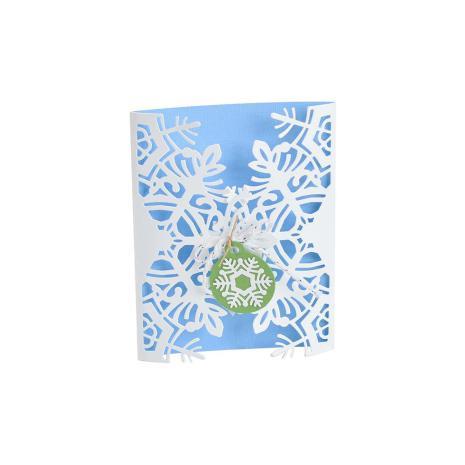 Sizzix Thinlits Dies Card Wrap - Snowflake  19-07
