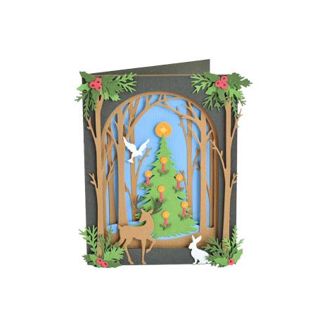 Sizzix Thinlits Dies - Christmas Shadow Box  19-07