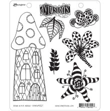 Dylusions Cling Stamps 8.5X7 - Down in the Woods