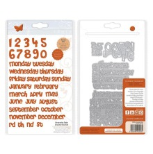 Tonic Studios Essentials Die Set - Keepsake Date Creator  2503E