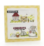 Tonic Studios Adorables Stamp Set - Go For It Gopher 2576EUS