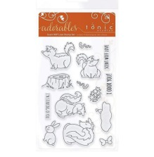 Tonic Studios Adorables Stamp Set - Scent Wiff Love 2580EUS