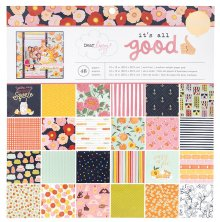 Dear Lizzy Single-Sided Paper Pad 12X12 48/Pkg - It´s All Good