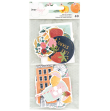 Dear Lizzy It´s All Good Ephemera Cardstock Die-Cuts 40/Pkg - Shapes