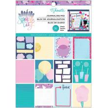 Shimelle Single-Sided Paper Pad 6X8 36/Pkg - Sparkle City