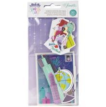 Shimelle Ephemera Cardstock Die-Cuts 30/Pkg - Sparkle City