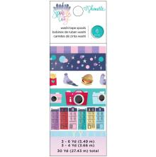 Shimelle Washi Tape 6/Pkg - Sparkle City