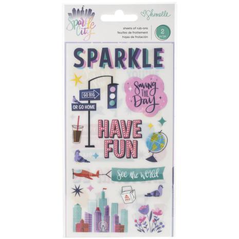 Shimelle Rub-Ons - Sparkle City