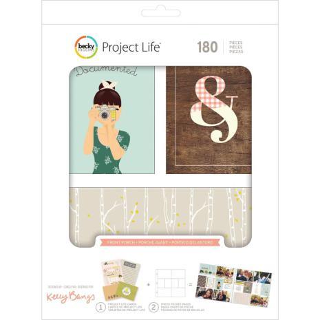 Project Life Value Kit 180/Pkg - Front Porch