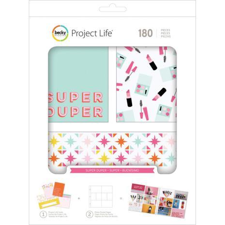 Project Life Value Kit 180/Pkg - Super Duper