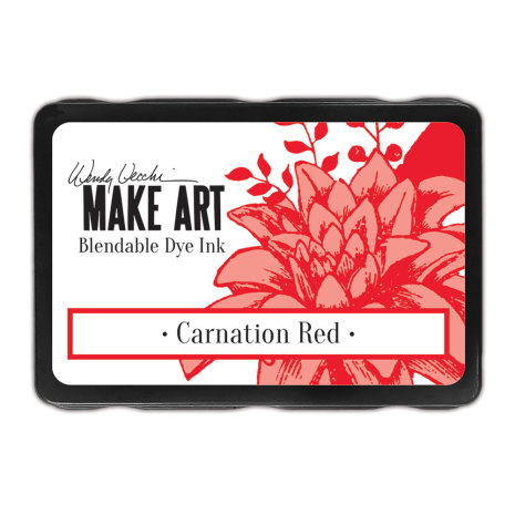 Wendy Vecchi Dye Ink Pads - Carnation Red