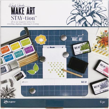 Wendy Vecchi MAKE ART Stay-tion 12inch