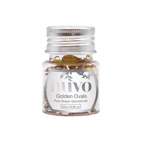 Tonic Studios Nuvo Pure Sheen Gemstones - Golden Ovals 1406N