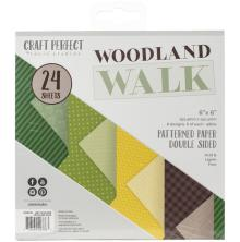 Tonic Studios Craft Perfect 6X6 Card Pack - Woodland Walk 9376E