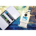 Prima Confections Watercolor Pans 12/Pkg - Currents