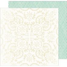 Maggie Holmes Foiled Cardstock 12X12 - Sunny Days