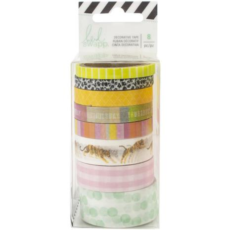Heidi Swapp Washi Tape Rolls 8/Pkg -  Color Fresh