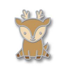 Lawn Fawn Enamel Pin - Hello Deer