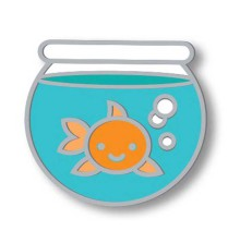 Lawn Fawn Enamel Pin - It´s O-fish-al