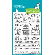 Lawn Fawn Clear Stamps 4X6 - Spooky Village
