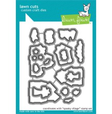 Lawn Fawn Custom Craft Die - Spooky Village