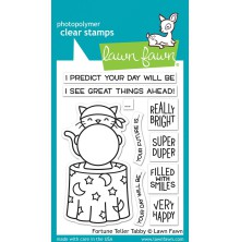 Lawn Fawn Clear Stamps 3X4 - Fortune Teller Tabby