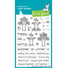 Lawn Fawn Clear Stamps 4X6 - Tree Before ´n Afters