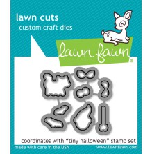 Lawn Fawn Custom Craft Die - Tiny Halloween
