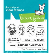 Lawn Fawn Clear Stamps 3X2 - Tiny Christmas