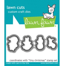 Lawn Fawn Custom Craft Die - Tiny Christmas