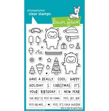 Lawn Fawn Clear Stamps 4X6 - Yeti or Not