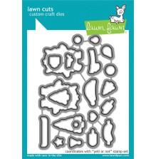 Lawn Fawn Custom Craft Die - Yeti or Not
