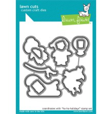 Lawn Fawn Custom Craft Die - Ho-Ho-Holidays
