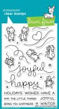 Lawn Fawn Clear Stamps 4X6 - Mice on Ice