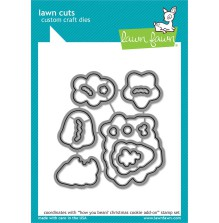 Lawn Fawn Custom Craft Die - How You Bean? Christmas Cookie Add-On