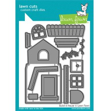 Lawn Fawn Custom Craft Die - Build-A-House