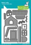 Lawn Fawn Custom Craft Die - Build-A-House