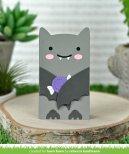 Lawn Fawn Custom Craft Die - Woodland Critter Huggers Bat Add-On