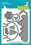 Lawn Fawn Custom Craft Die - Shadow Box Card Mountain Add-On