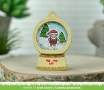 Lawn Fawn Custom Craft Die - Snow Globe Gift Tag
