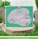 Lawn Fawn Custom Craft Die - Stitched Pond