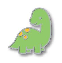 Lawn Fawn Enamel Pin - Dino-Mite