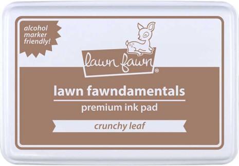 Lawn Fawn Ink Pad - Crunchy Leaf