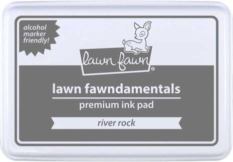 Lawn Fawn Ink Pad - River Rock