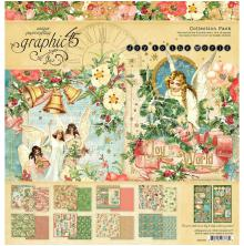 Graphic 45 Collection Pack 12X12 - Joy To The World