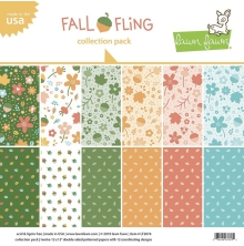 Lawn Fawn Collection Pack 12X12 - Fall Fling