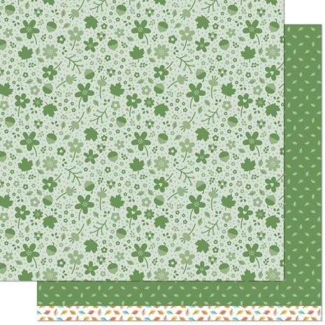 Lawn Fawn Fall Fling Double Sided Paper 12X12 - Kyle