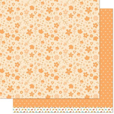 Lawn Fawn Fall Fling Double Sided Paper 12X12 - Nathan