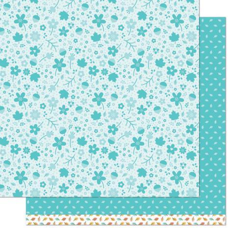 Lawn Fawn Fall Fling Double Sided Paper 12X12 - Jenn